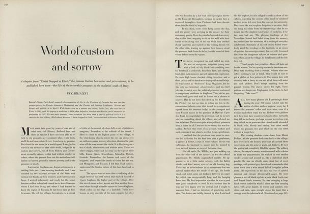 World of Custom and Sorrow