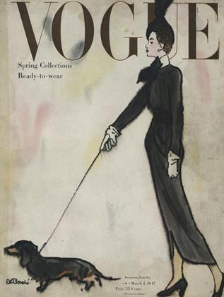 Cover for the March 1 1947 issue