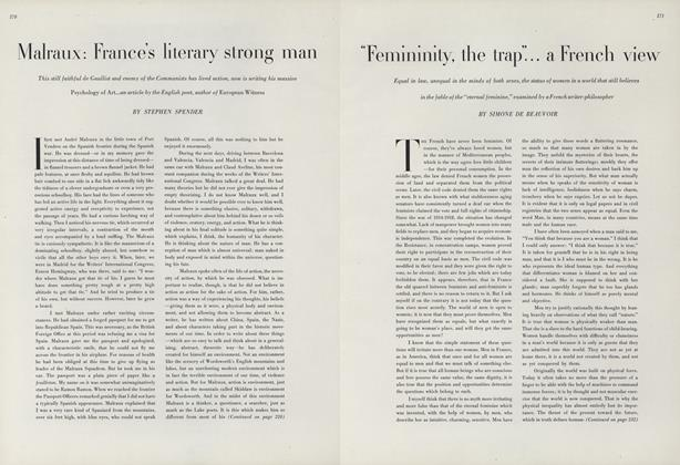 """Femininity, The Trap""...A French View"