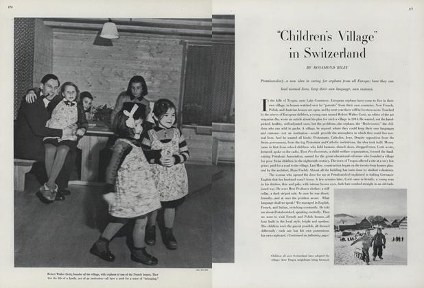 """""""Children's Village"""" in Switzerland"""