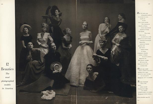 Article Preview: 12 Beauties: The Most Photographed Models in America, May 1 1947 | Vogue