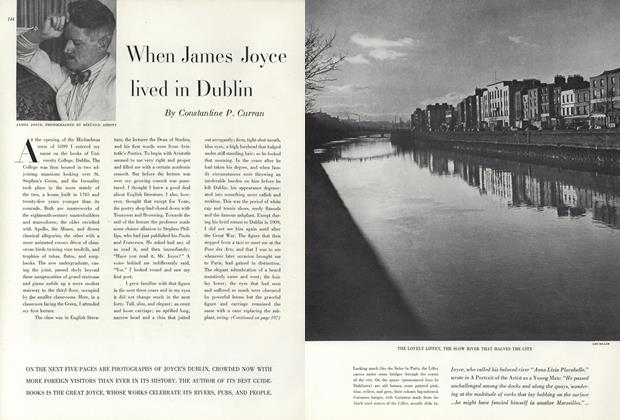 Article Preview: When James Joyce Lived in Dublin, May 1 1947 | Vogue