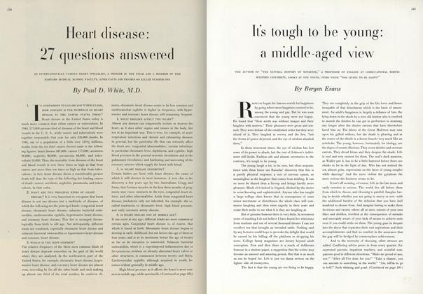Article Preview: It's Tough to be Young: A Middle-Aged View, May 1 1947 | Vogue