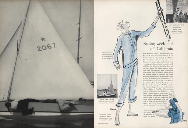Sailing Week End off California