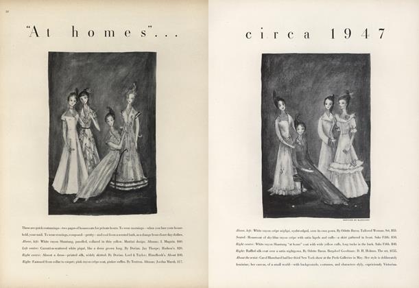 """""""At Homes""""'...Circa 1947"""