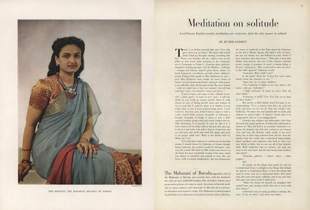 Meditation on Solitude