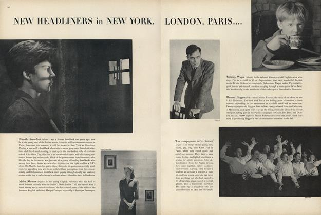 Article Preview: New Headliners in New York, London, Paris..., July 1 1947 | Vogue