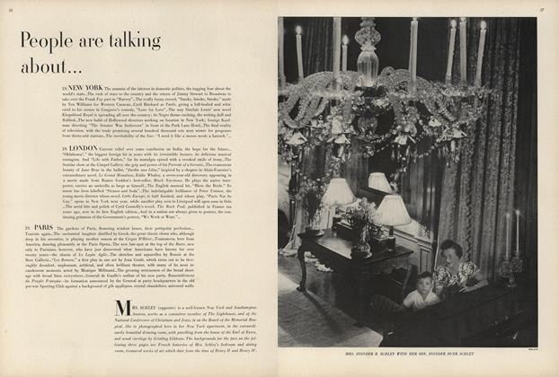 Article Preview: Anaemia of Interest in Domestic Politics/The Rush of Stars to the Country..., July 1 1947 | Vogue