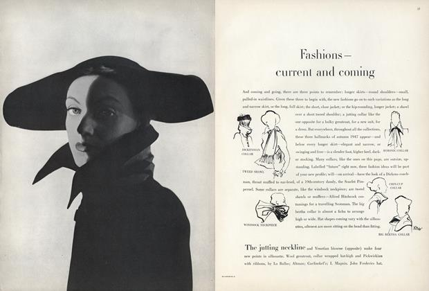 Fashions—Current and Coming