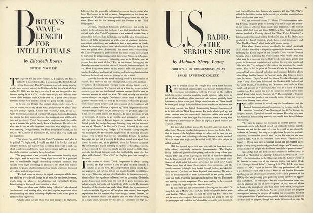 Article Preview: Britain's Wave-length for Intellectuals, July 15 1947 | Vogue