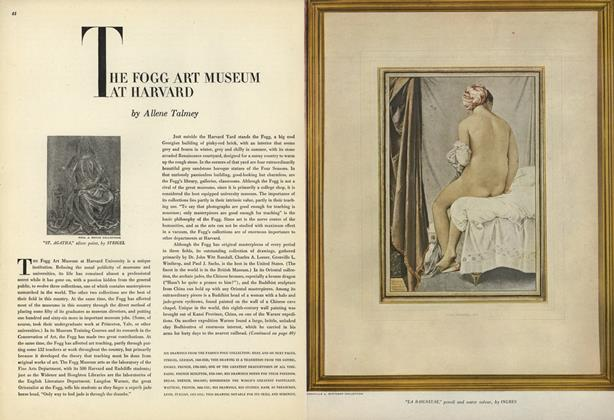 Article Preview: The Fogg Art Museum at Harvard, July 15 1947 | Vogue