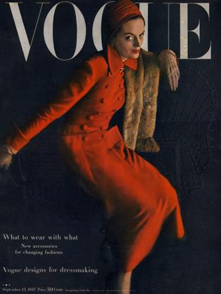 Cover for the September 15 1947 issue
