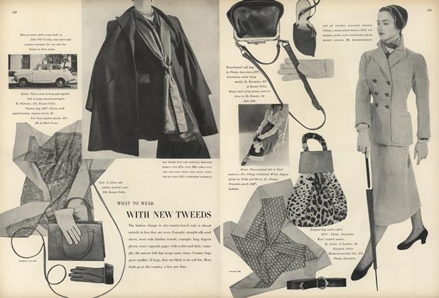 What to Wear With New Tweeds