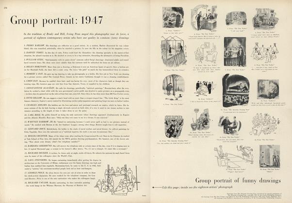Group portrait: 1947