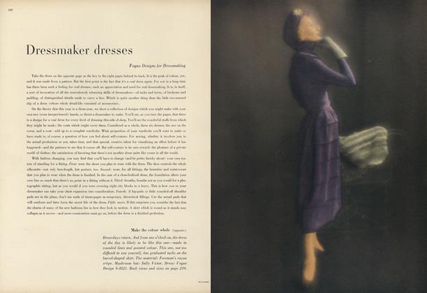Dressmaker Dresses