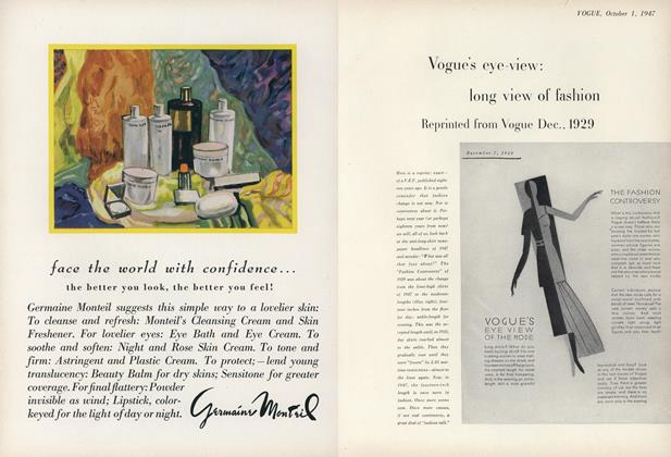 Long View of Fashion: Reprinted from Vogue Dec., 1929