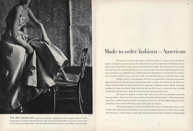 Made-to-order Fashions—American