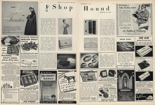 Shop Hound...Serves an Ace
