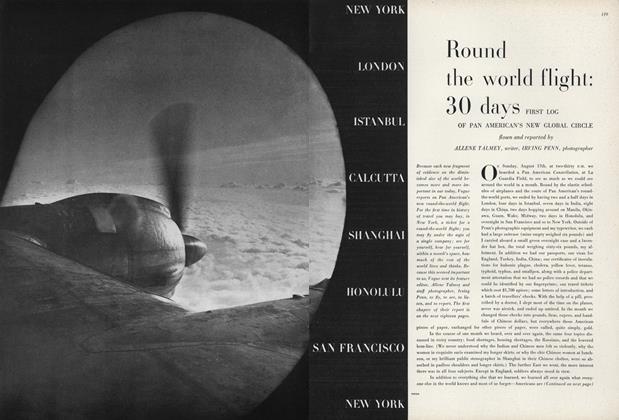 Round the World Flight: 30 Days