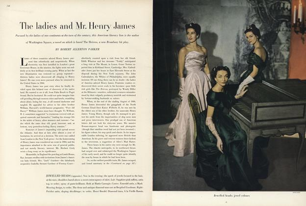 The Ladies and Mr. Henry James