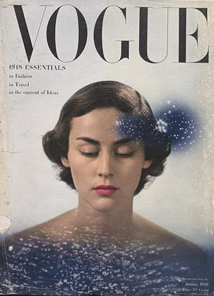 Cover for the January 1948 issue