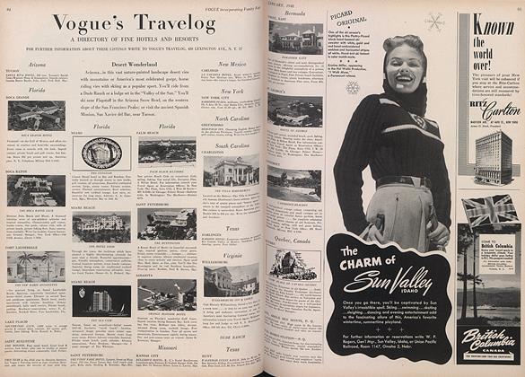 Vogue's Travelog