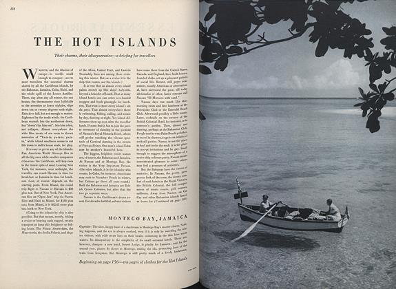 The Hot Islands