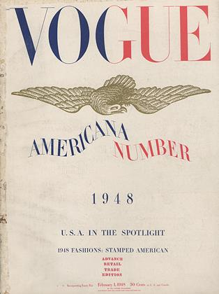 Cover for the February 1 1948 issue