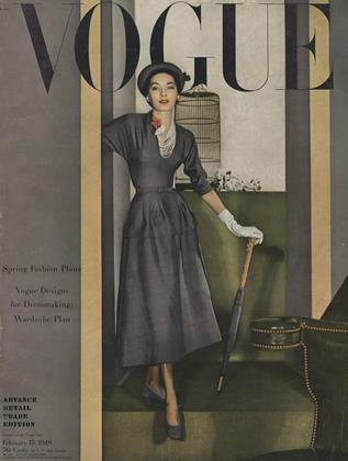 Cover for the February 15 1948 issue