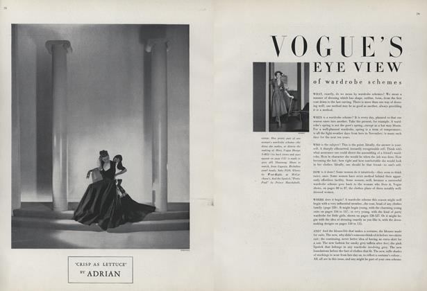 Vogue's Eye View of Wardrobe Schemes