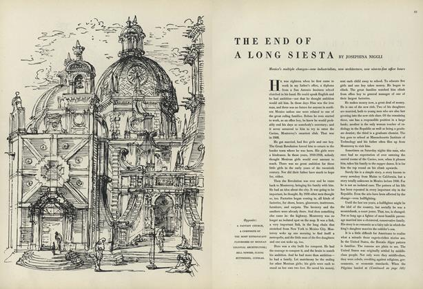 Article Preview: The End of a Long Siesta, February 15 1948 | Vogue
