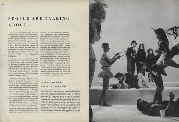 Article Preview: People Are Talking About..., February 15 1948 | Vogue