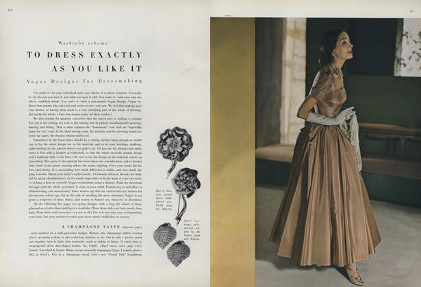 Article Preview: Wardrobe Scheme to Dress Exactly As You Like It, February 15 1948 | Vogue