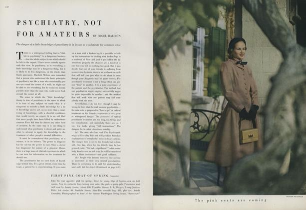 Article Preview: Psychiatry, Not for Amateurs, February 15 1948 | Vogue