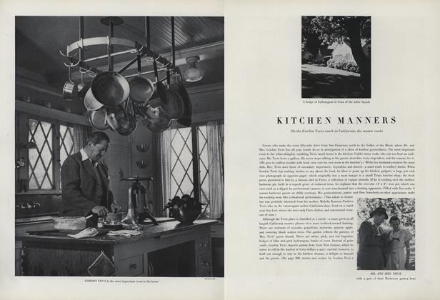 Kitchen Manners