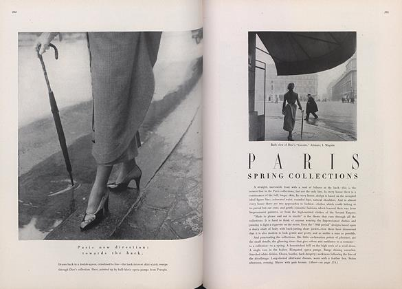 Article Preview: Paris Spring Collections, March 15 1948 | Vogue