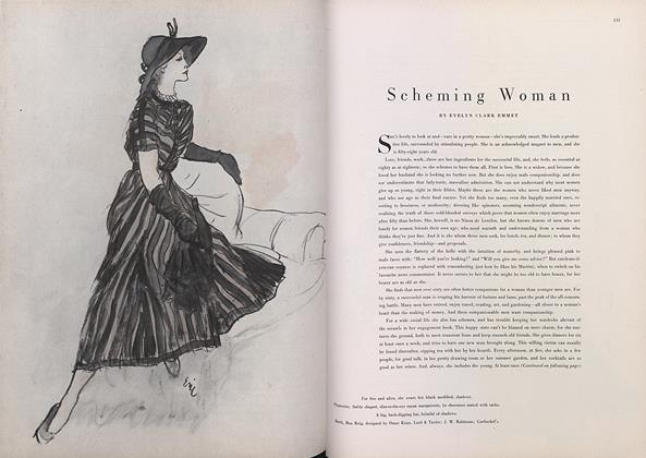 Article Preview: Scheming Woman, March 15 1948 | Vogue