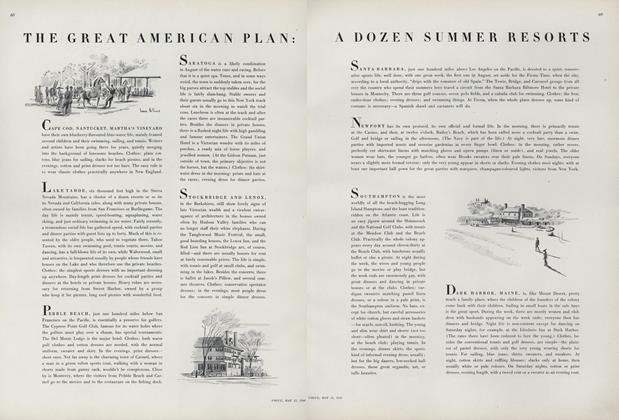 The Great American Plan: A Dozen Summer Resorts