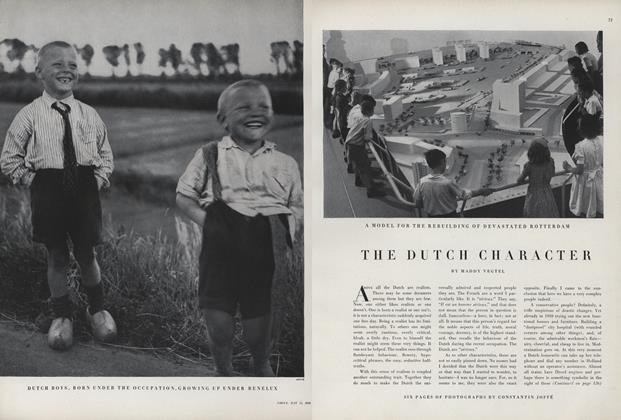 The Dutch Character