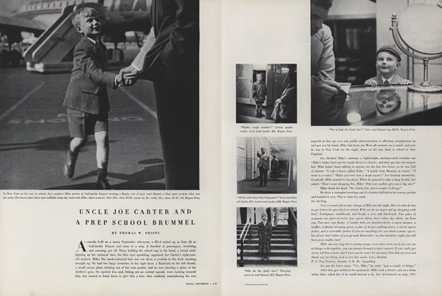 Uncle Joe Carter and a Prep School Brummel