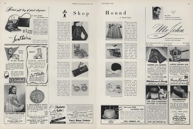 Shop Hound...as Santa Claus