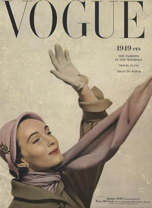 Cover for the January 1949 issue