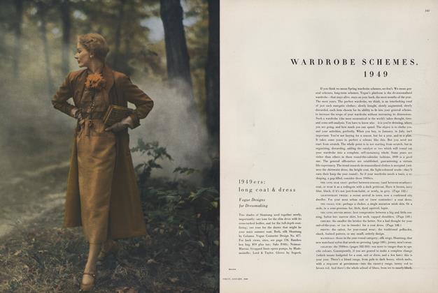 Wardrobe Schemes, 1949