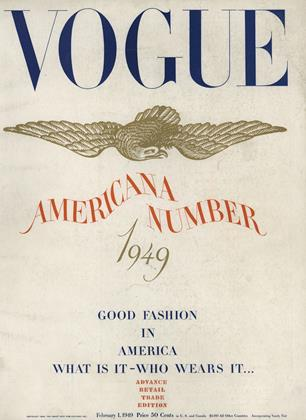 Cover for the February 1 1949 issue