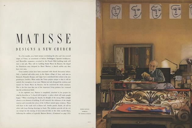 Matisse Designs a New Church