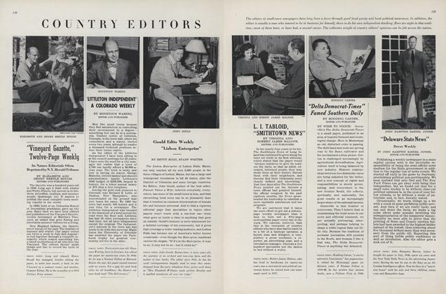 Country Editors