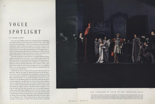 Article Preview: , April 1 1949 | Vogue