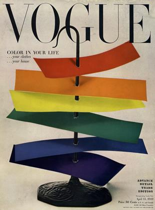 Cover for the April 15 1949 issue