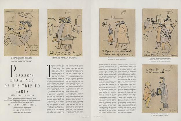 Picasso's Drawings of His Trip to Paris