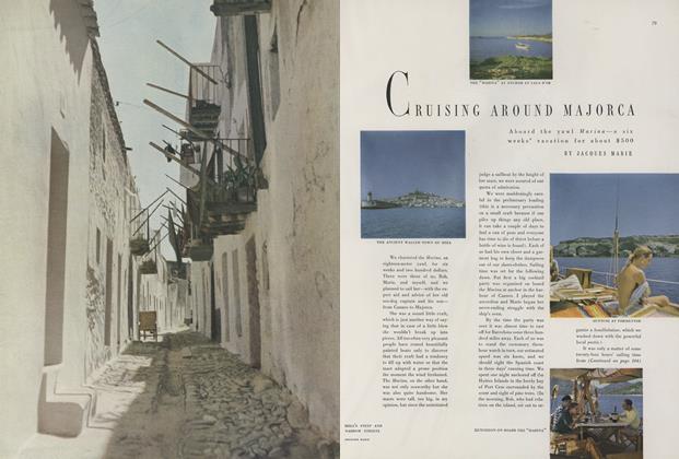 Cruising Around Majorca